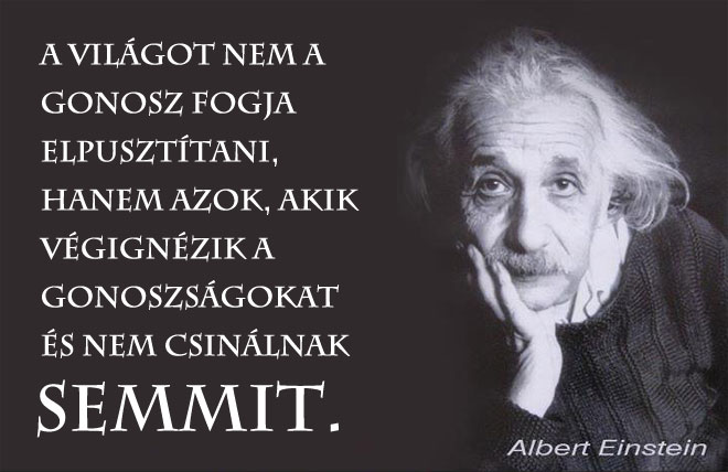 Einstein idézet