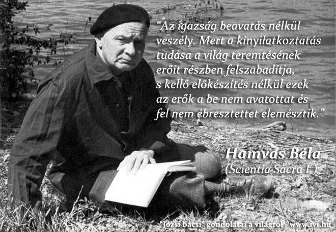 Hamvas Béla: A beavatásról