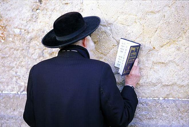 Imádkozó rabbi