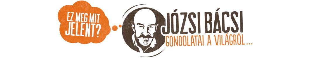 Józsi bácsi gondolatai a világról… Logo